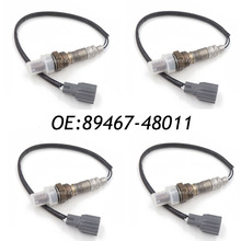 New 4pcs Original 89467-48011 8946748011 Oxygen Sensor O2 Sensor Air Fuel Ratio Sensor For Lexus ES300 RX300 Toyota Highlander