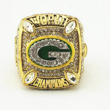 Promotion Price for Replica Newest Design 2010 Super Bowl XLV Green Bay Packers Championship Ring Free Shipping