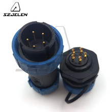 SY1710 ,5pin waterproof connector plugs and sockets,  Industrial electrical equipment connector plugs and sockets 5pin