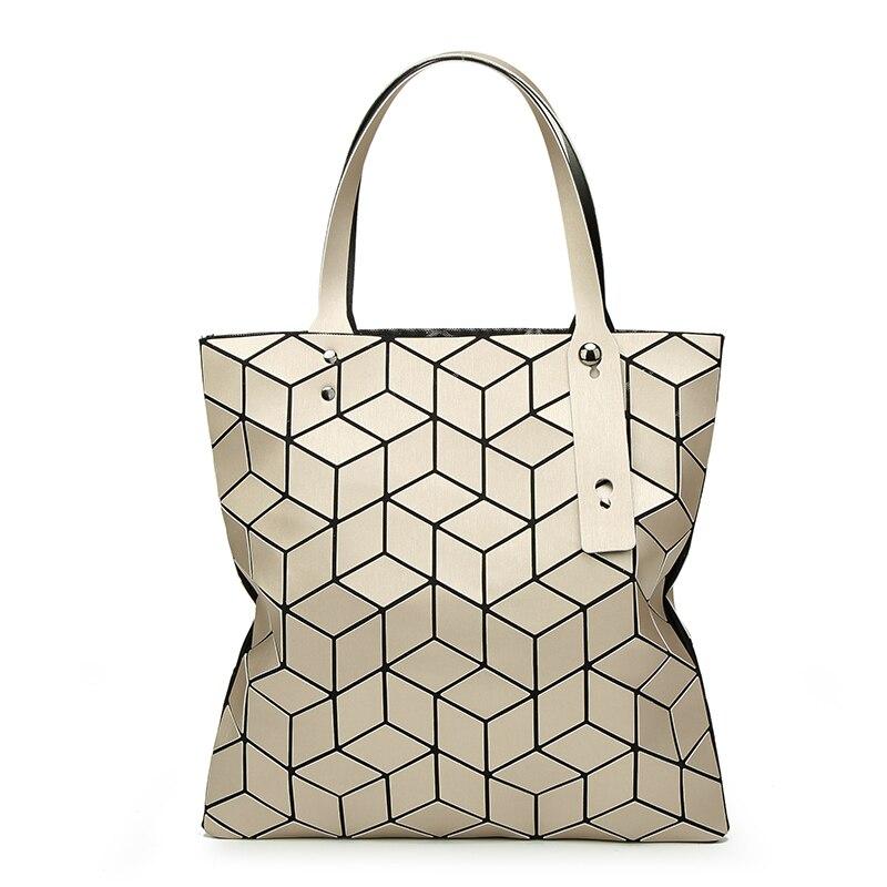 Fashion women Geometric Lingge package bag 3D cube Japanese handbag Matt wiredrawing bangalor bao bao balso<br>
