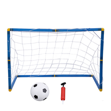 Portable Folding Children Kid Goal Football Door Set Football Gate Outdoor Indoor Toy Sports Toy(China)