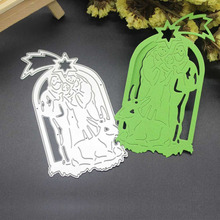 Bible Christmas Metal Cutting Dies Scrapbooking Embossing Dies Cut Stencils Xmas DIY Cards(China)