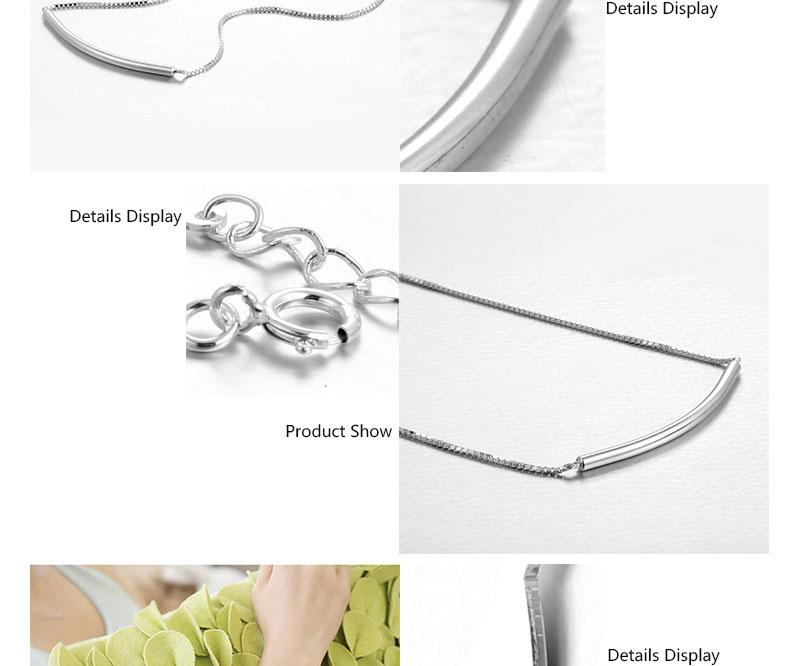IFFURMON Fine Bracelets Sterling Silver Bangles Wedding Anniversary Round Charm Bracelet For Women Silver 925 Bracelet (3)