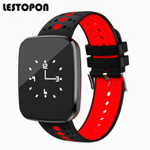 Buy LESTOPON Waterproof Smart Band Fitness Tracker Bracelet Sports Wristband Heart Rate Blood Pressure Monitor Pedometer Clock for $36.55 in AliExpress store