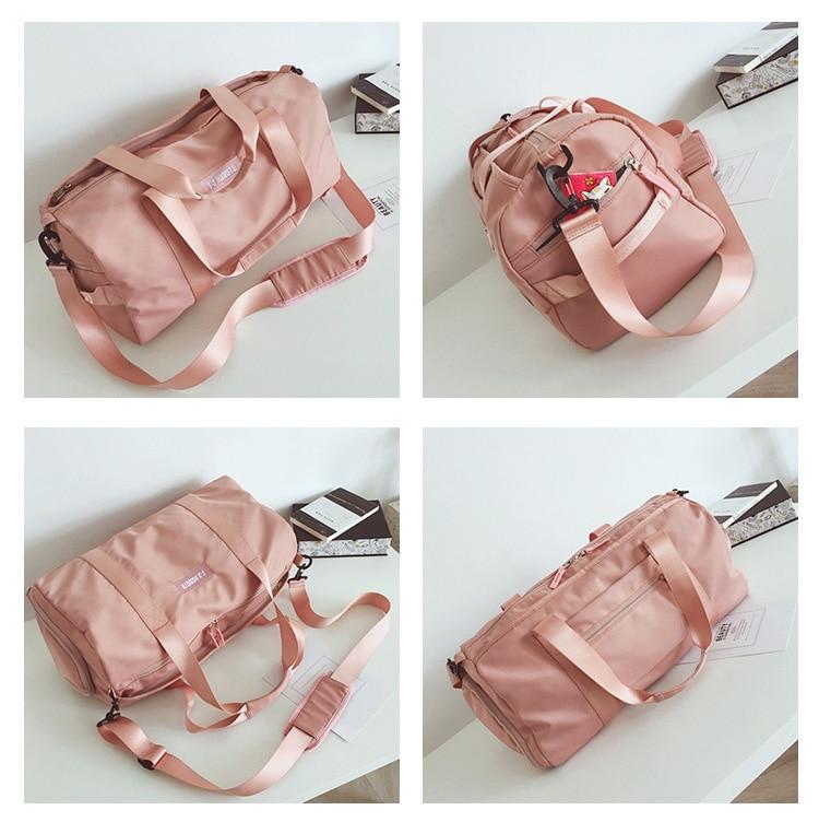 8dbd8bf3b068 Female Gym Bag Women Fitness Yoga Sports Bag Handbags Bolsa Training ...