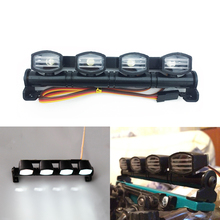 Ultra Bright LED Light Bar for 1/8 1/10 HSP HPI Traxxas RC 4WD Car Monster Truck TAMIYA CC01 Axial SCX10 RC4WD D90 RC Crawler