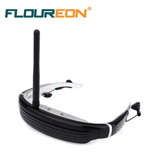 F640 5.8G FPV 62 inch 4:3 LCD Screen 3D Video Glasses for RC Drone 3D virtual optical lenses All 5.8G FPV Drone for computer/TV(China)
