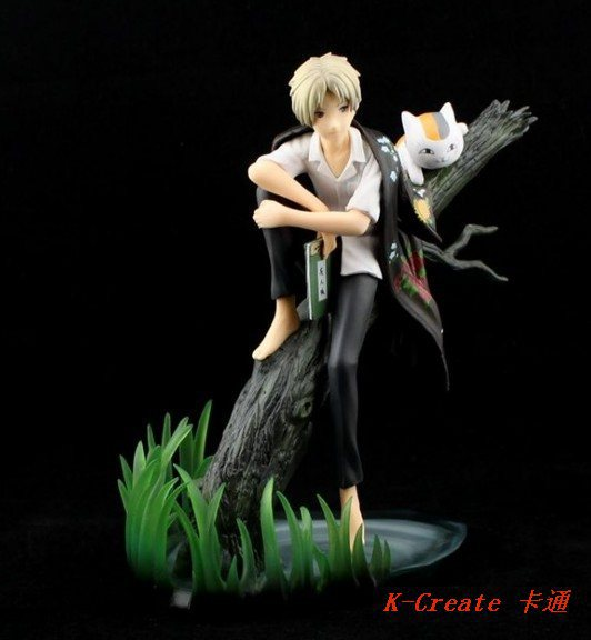 1 pcs anime Natsume with cat teacher action figure toys tall 20cm set.<br><br>Aliexpress