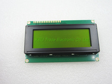 new 1pcs/lot LCD Board 2004 20*4 LCD 20X4 5V Yellow and Green screen LCD2004 display LCD module LCD 2004