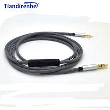 Upgraded Replacement Headphone Earphone Extension 3.5mm to 2.5mm Jack Cable Mic For Bose Quiet Comfort 25 QC25 AE2 AE2i AE2w(China)
