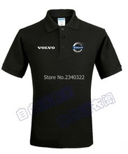 Volvo summer marked 4s shop tooling custom polo shirt cotton clothes men and women(China)