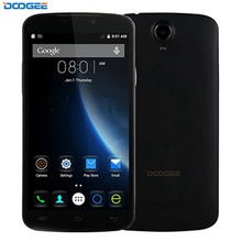 3G Original Smartphone DOOGEE X6 1GB+8GB 5.5 inch Android 6.0 MTK6580 Quad Core 1.3GHz unlocked Phone WiFi BT GPS OTA Cellphone