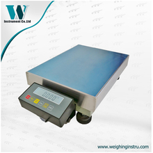 300kg 10g digital electronic platform scale with LCD display