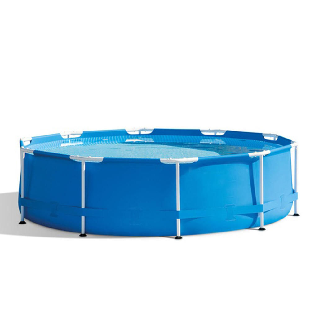 1,100 Gallons of Water Capacity Swimming Pool With Filter Pump Holds Up (1)
