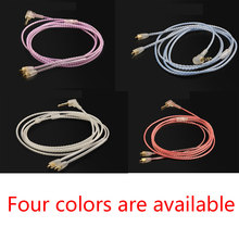 Handmade OCC Silver Upgrade Replacement Audio Cable For SKELETON SERIES S10 S20 AC10 AC20 MUSICIAN MONITORS earphones