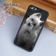 MaiYaCa West Highland Terrier Westie fashion soft mobile cell Phone Case Cover For iPhone 6 6S Custom DIY cases luxury shell(China)