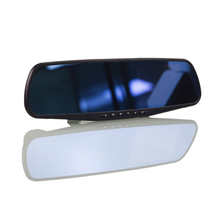 4.3 Inch Full HD 1080P Car DVR Dual Camera Rearview Mirror For Volkswagen Golf Original Style Night Vision Digital Video