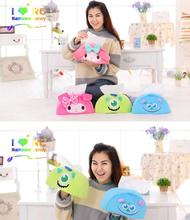 Candice guo plush toy stuffed doll cartoon Monsters University my melody girl tissue paper towel box cover kid birthday gift 1pc