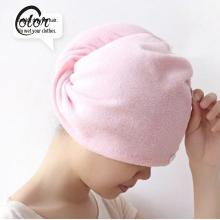 Strong Water Absorbing Hair-Drying Hat Microfiber Dry Hair Towel Hat Turban Women Absorbent Wrapped Bathing Shower Cap