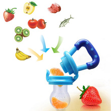 Food Supplement Feeder Mills Push Chew Fruit Vegetables Bite Happy Processor Food grinder Food Mills for mom's baby,size M
