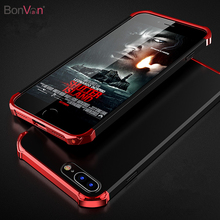 Buy BONVAN 360 Full Coque iPhone 8 Case Original Luxury Plating Plastic Phone Case iphone 8 Plus Cover Matte Hard PC Shell for $4.99 in AliExpress store
