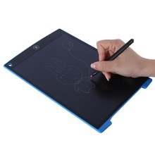2017 China Supplier 12 Inch LCD Digital Drawing Handwriting Pads Gift Portable Writing Board ABS Electronic Tablet Board