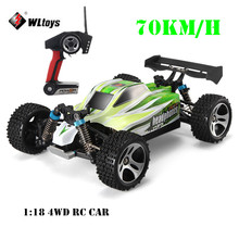 WLtoys A959-B 70KM/H Racing Car 1:18 Scale 4WD Truck Off-Road Vehicle Buggy Climbing Car Radio Control A959 Updated Version ~