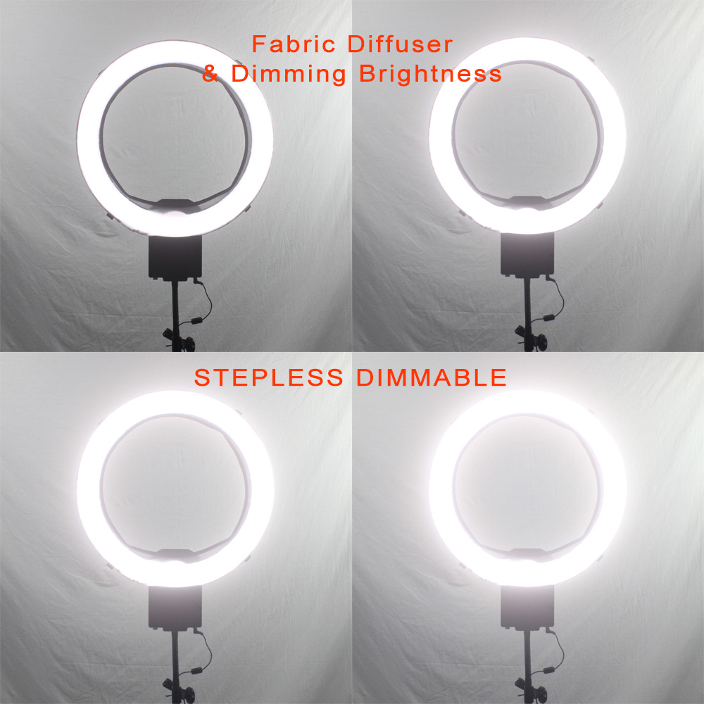Fabric Diffuser & Dimming Brightness