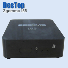 Zgemma Star i55 Satellite Receiver BCM7362 Dual core Mainchipset 2000 DMIPS CPU PROCESSOR Linux Operating System HDMI Connection(China)