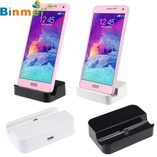 Factory Price Binmer Hot Universal Micro USB Charging Syncing Docking Station Dock for Cell Phone MApr05 Drop Shipping(China)