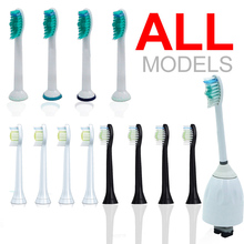Electric Toothbrushes Heads Replacement For Philips E Series Sonicare Diamond Clean ProResult Healthy Clean(China)