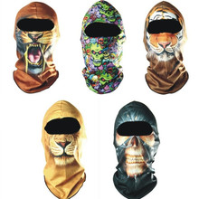 Balaclava Outdoor Bicycle Bike Cycling Basketball Golf Ski Hat  3D  Headgear  Face Mask Hunting  Protection Promotion Cool Mask