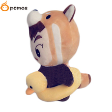 "[PCMOS] 2017 New Korea Kpop EXO KimMinseok XIUMIN Coon Cute Animal 9"" Character Plush Toy Stuffed Doll Fans Gift 16081904(China)"