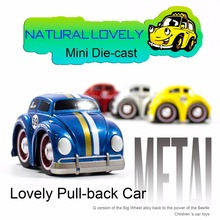 Free Shipping Cartoon cars Pixar Cars VW Beetle Diecasts Metal Funny Cartoon Cars Baby Toys