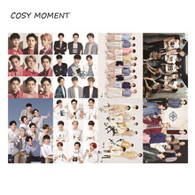 COSY MOMENT 8pcs/set Different Pattern KPOP EXO Korean Stars Posters Xiu Min Lu Han Kris Paintings Wall Pictures Poster QT223