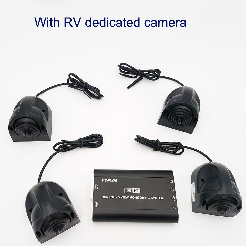 With RV dedicated camera