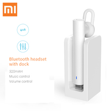 Buy Original Xiaomi Bluetooth earphone White youth version Bluetooth 4.1 phone earphone simple fashion Business headset Wireless for $12.98 in AliExpress store