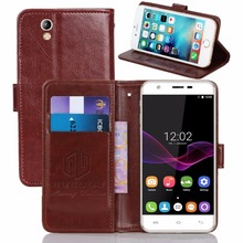 GUCOON Vintage Wallet Case for Oukitel U7 Max 5.5inch PU Leather Retro Flip Cover Magnetic Fashion Cases Kickstand Strap(China)