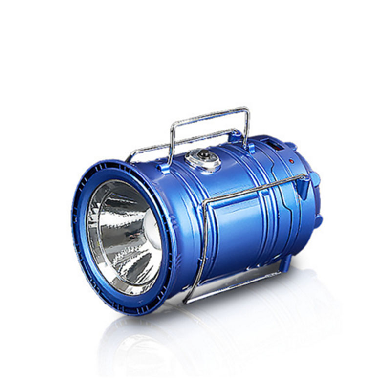 Multifunctional Camping Lamp USB / Solar Powered Light Retractable Folding Portable Outdoor Lantern For  Camping Hiking Sports<br><br>Aliexpress