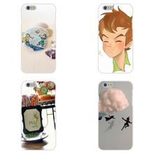 For Samsung Galaxy A3 A5 A7 J1 J2 J3 J5 J7 2015 2016 2017 S8 Plus Soft TPU Silicon Protector Cases Tinkerbell Peter Pan