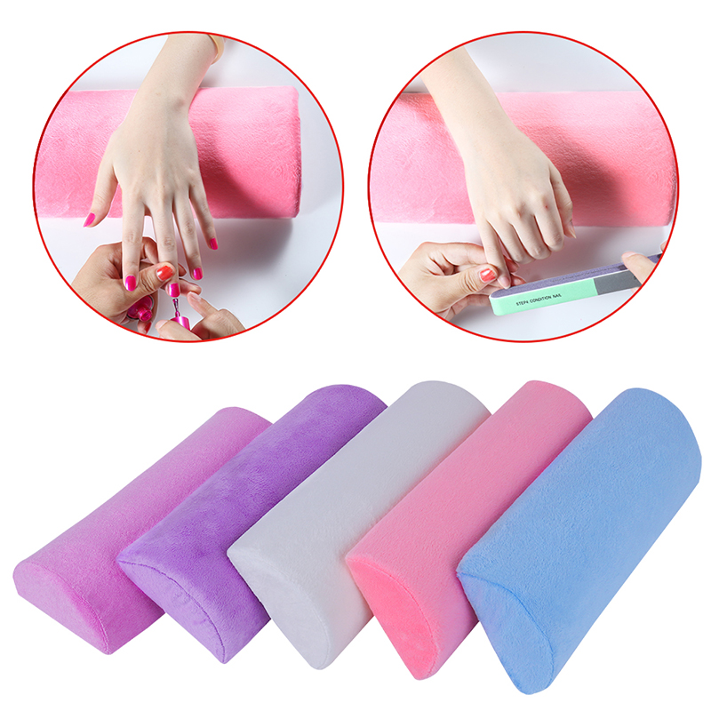 Belen Nail Arm Rest Manicure Accessories Tool EquipmentComfortable Plastic Silicone Nail Art Cushion Pillow Salon Hand Holder(China (Mainland))