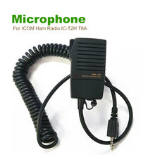 Speaker Mic For ICOM Ham Radio IC-T2H T8A T90A E90 W32A W32E As HM46