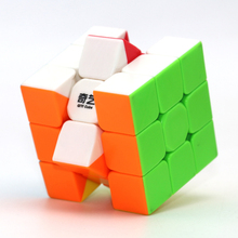 1Pcs 3x3x3 ABS Sticker Block Speed Magic Cubes Puzzle Toy Children Kid Gift Toy Youth Adult Professional Rubiks cube(China)