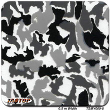 iTAATOP TSMY009-8 0.5m *2M camo transparent digital camo hydro dipping pva film hydrographic film water transfer printing film(China)