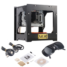 cnc engraving machine 1000mW Automatic DIY Print laser engraver mini USB Engraving Machine Off-line Operation(China)