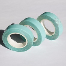 3 rolls blue color 1cm x 3 yard hair extension adhesive tape for tape hair toupees wigs/double sided tape
