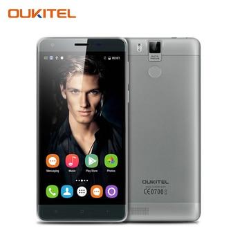 "Oukitel K6000 Pro 5.5 ""6000 mAh Octa base Téléphone Portable MTK6753 Smartphone FHD Écran 3G RAM 32G ROM 4G LTE Mobile Téléphone"