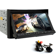 Car Stereo Audio Multimedia System RDS Radio Autoradio Video PC Car DVD Player Receiver In Deck MP4 Backup Camera
