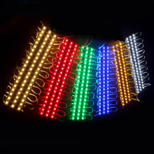 20pcs/lot DC12V IP65 Waterproof 3528 LED Module lamp White/Warm White Advertising lamp Led Sign Backlights