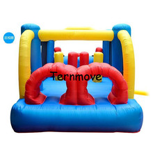 jumper combo bouncer commercial grade inflatable bouncy jumper Mini Bouncy Castle for Party Events obstacle course bounce house(China)